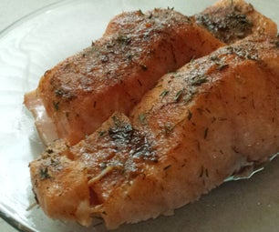 Heart Healthy Herb Baked Salmon