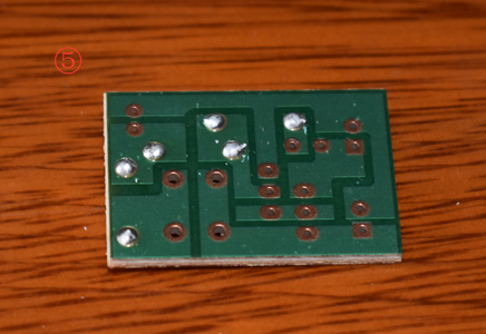 Solder the Resistors to the PCB
