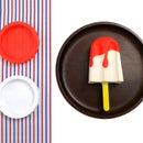 How to make a melting popsicle with two Play-Doh colors