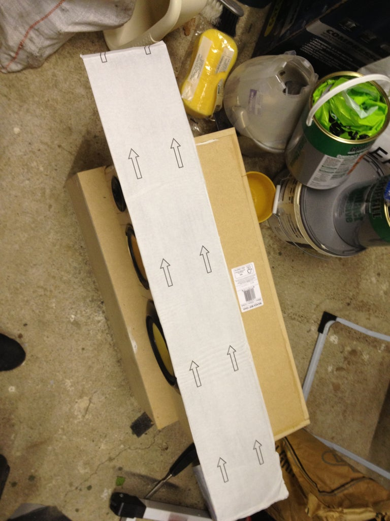 Assembly - Finishing Trim - Tower Speakers