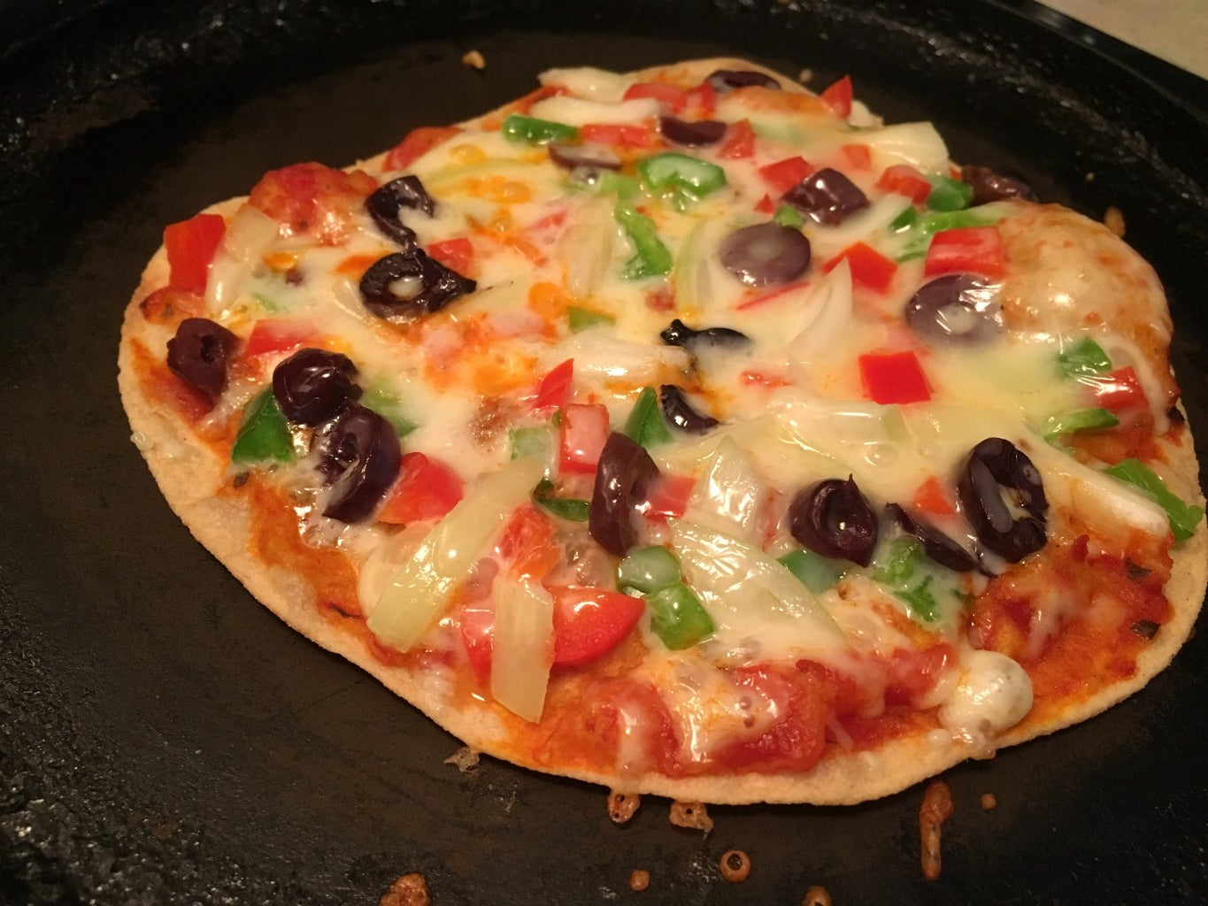 Making the Pizza