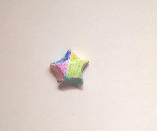 Rainbow Paper Stars!