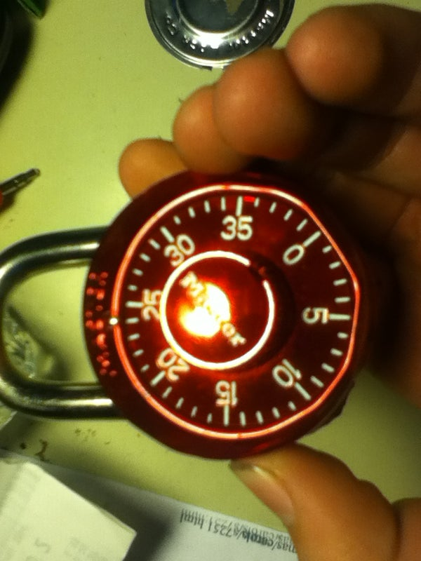 Find the Combination to Your Master Lock!