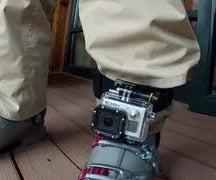 GoPro Mounting Tips   Headstrap Mount on Leg