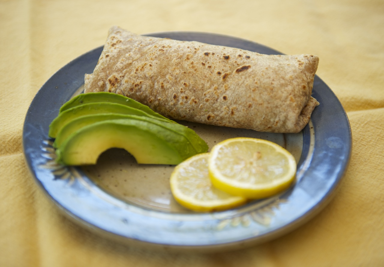 Healthy Quinoa Burritos