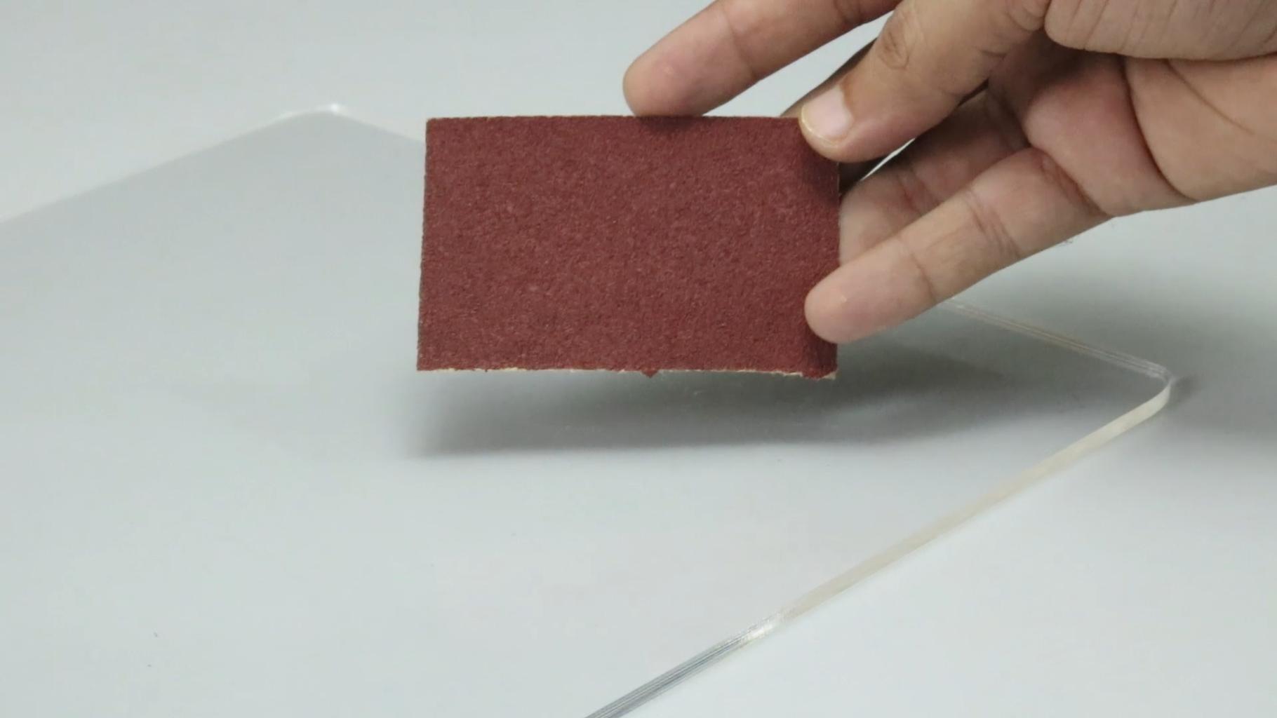 Polishing for Diffusing LEDs