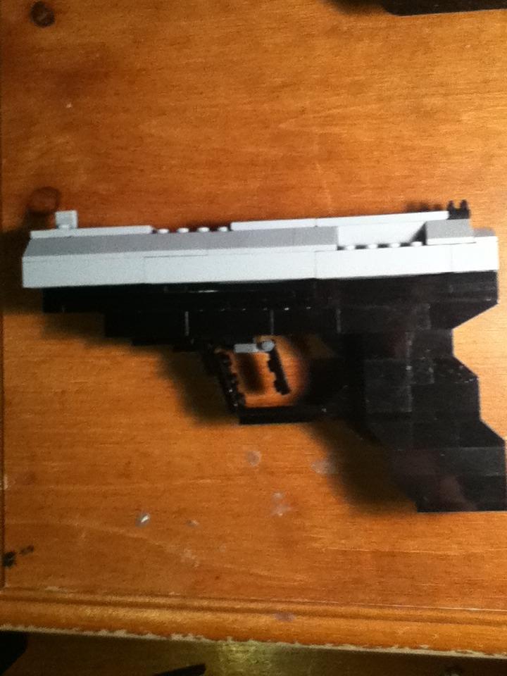 Lego P99 Pistol With Slide