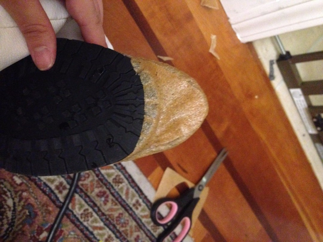 Blend the Sole of Your Boot Into Your New Toe