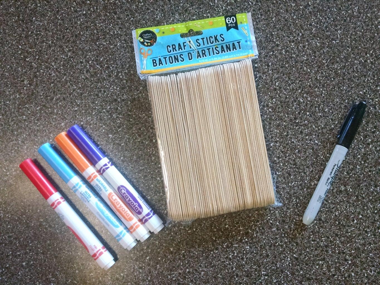 Create Chore Sticks