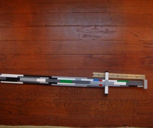 Life-sized Lego Sword