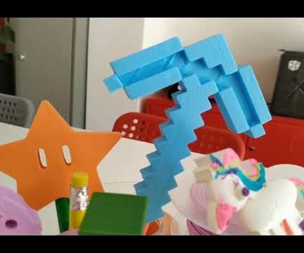 Personalized 3D Printer Pencil Top
