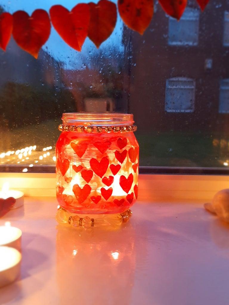 Jar 1: Heart Shaped Jar