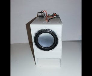 3D Printed Transmission Line Speaker