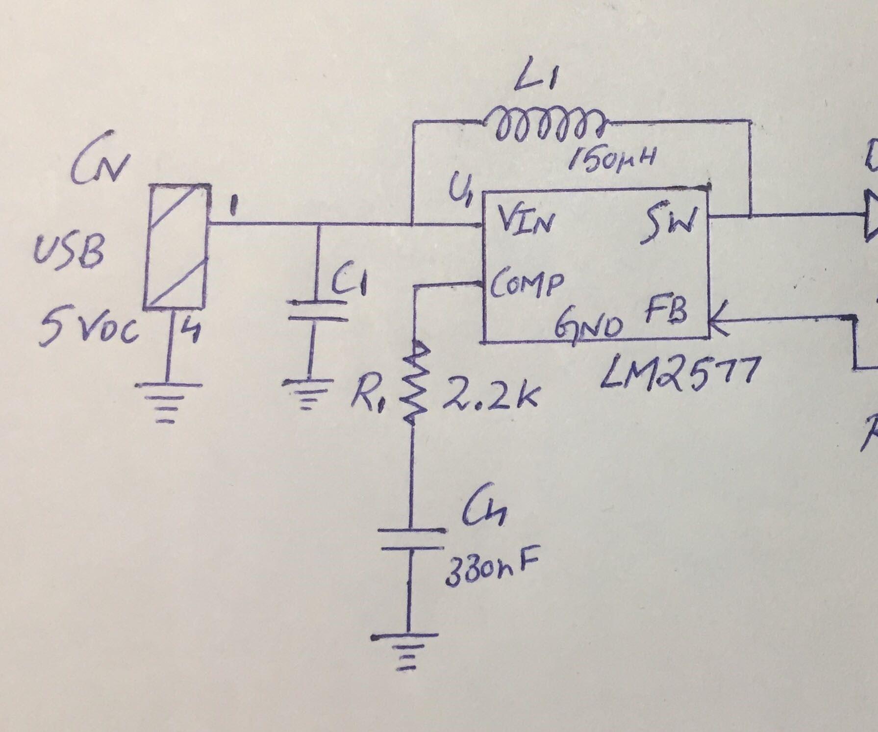 USB TO 12-V CONVERTER (Part-1)