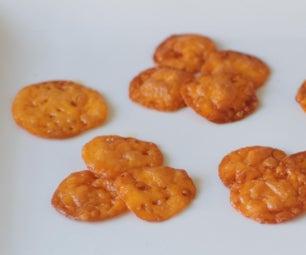 自制cheez-它/奶酪薯片