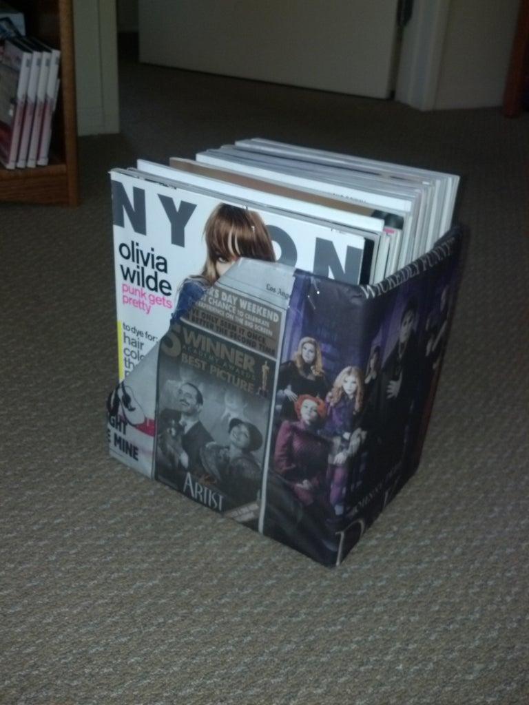 Pop Culture Magazine Rack