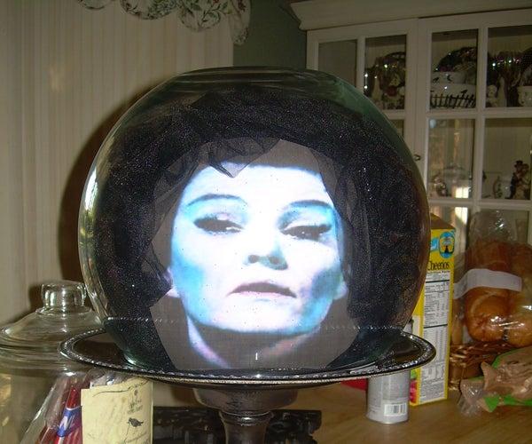 DIY Madame Leota Crystal Ball