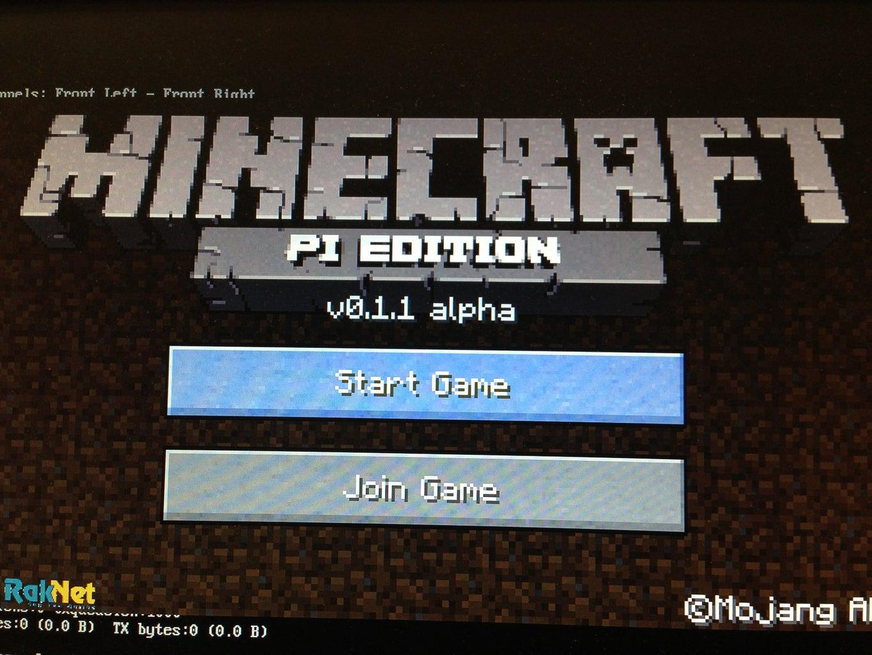 Instal Minecraft Pi