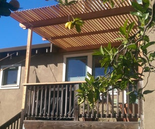 Shade Arbor for Deck