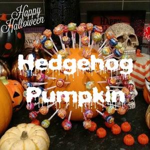 Hedgehog Pumpkin (Lollipop Holder)
