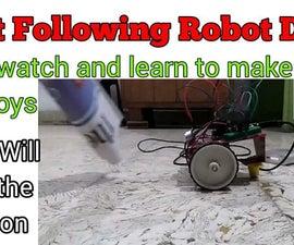OBJECT FOLLOWING/AVOIDING ROBOT