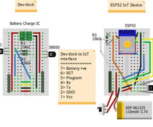 Battery Powered ESP Design