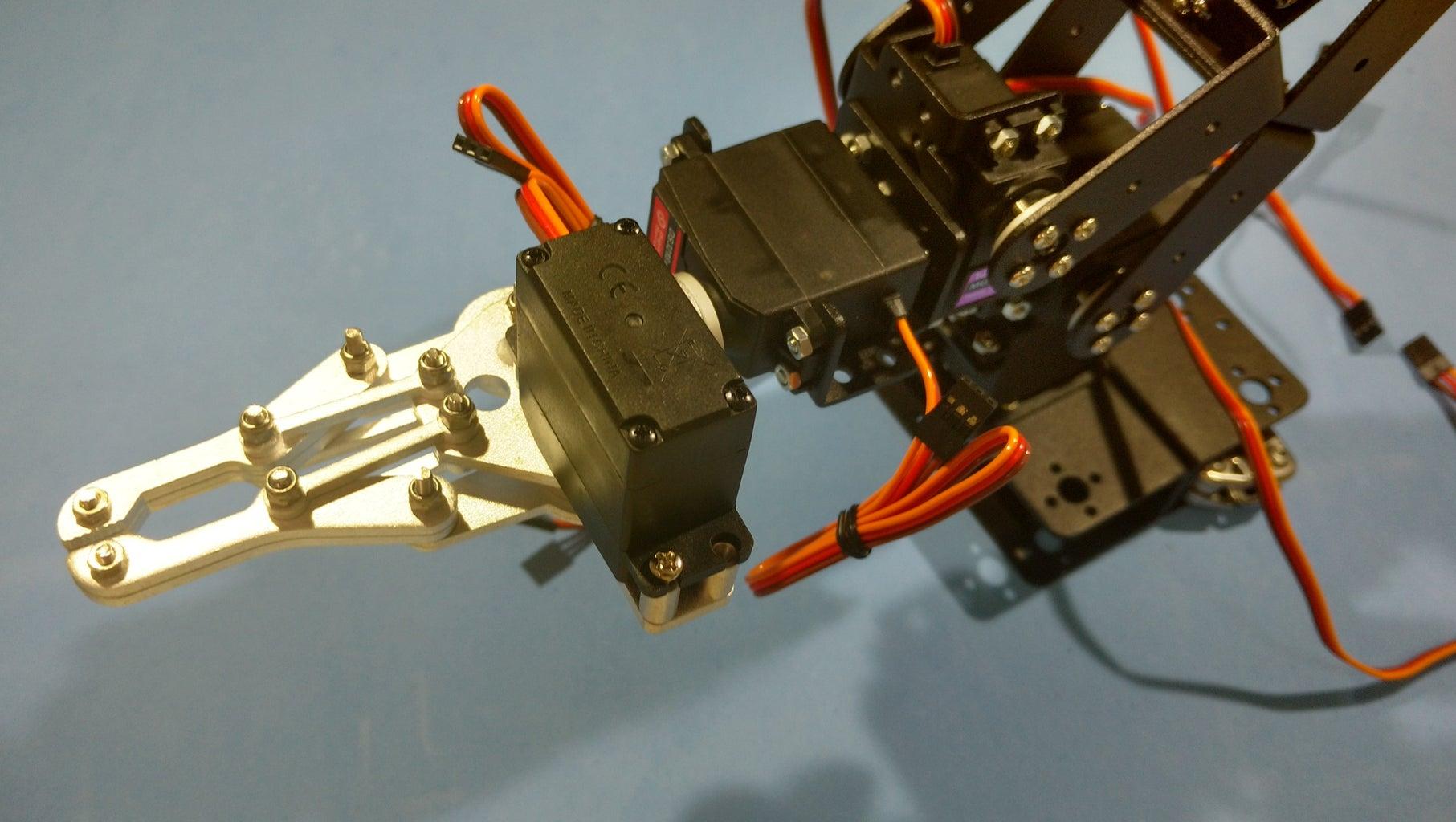 Assembling the Robotic Arm Pt7 - Servo #6