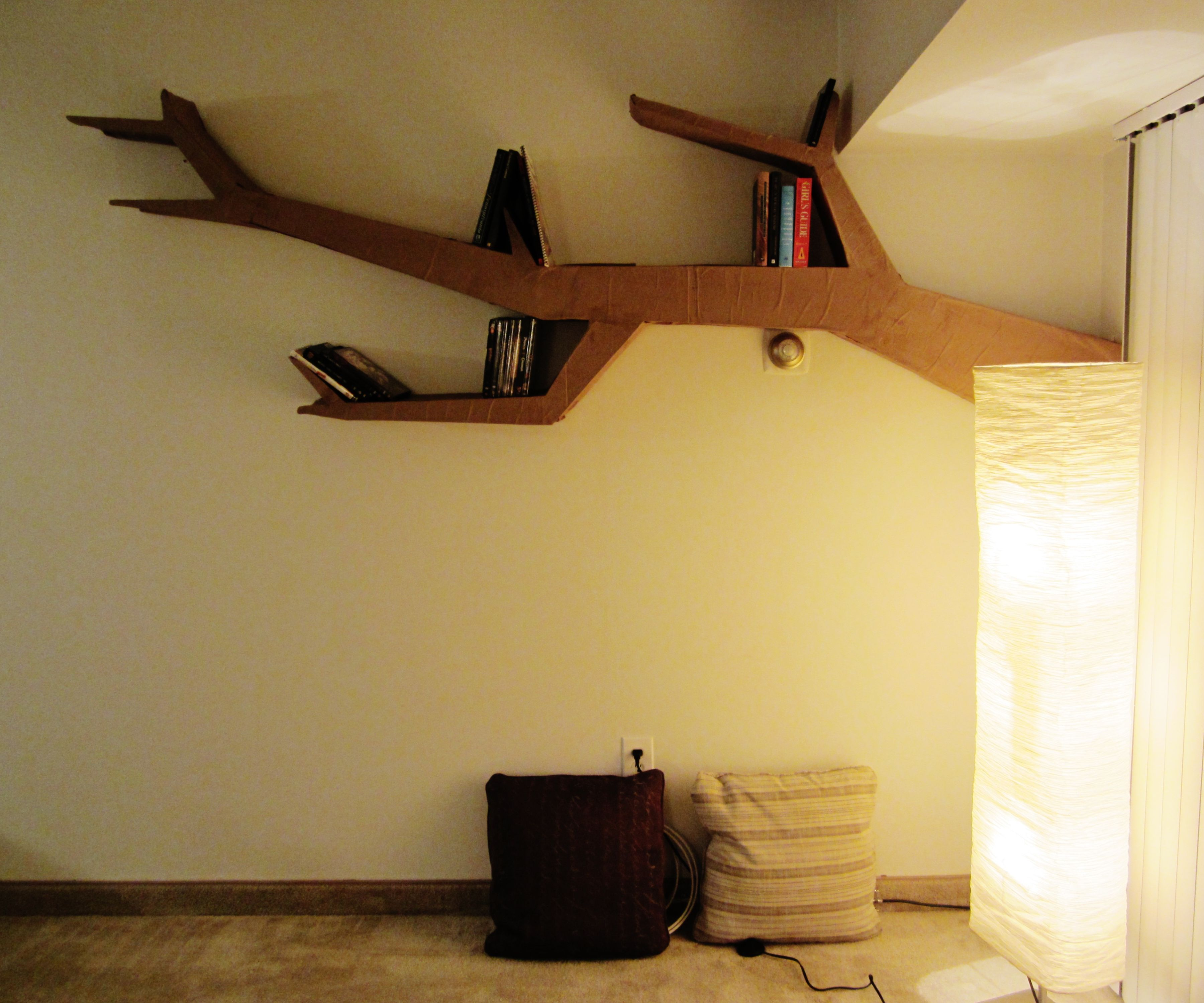 Tree Branch Bookshelf