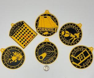 Six Medals.