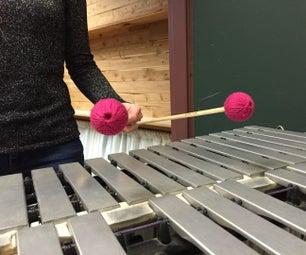 Four Mallet Steven's Grip: Holding Mallets, Piston Stroke, and Rotation Stroke