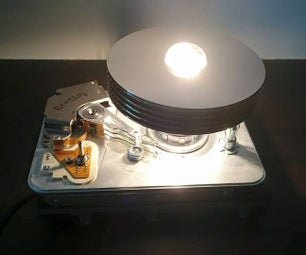 Hard Drive Lamp (another One)