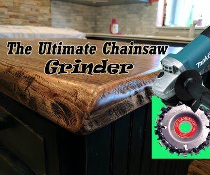 LANCELOT Chainsaw Grinder Attachment