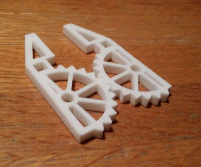 Print a Robot Pincer, from Software Installation - ordering a print.