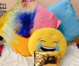 Colourful Rainbow Pillow Case , NATURAL COLORS