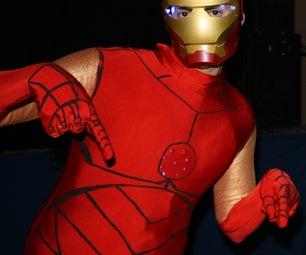 Hand Made Iron Man Costume