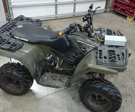 Kids Polaris ATV EV Conversion