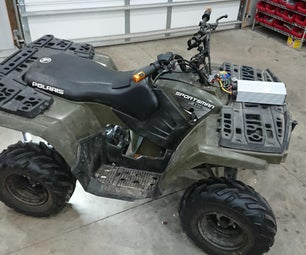 Kids Polaris Sportsman Quad ATV EV Electric Motor Swap Conversion