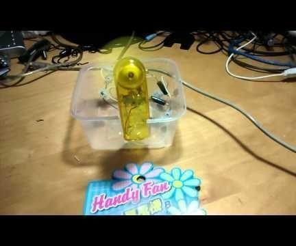 Transform a Battery-Powered Portable fan into a USB-Powered Fan