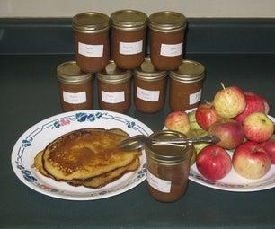 Sugar Free Wild Apple Cinnamon Jam