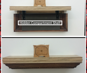 Secret Compartment Shelf