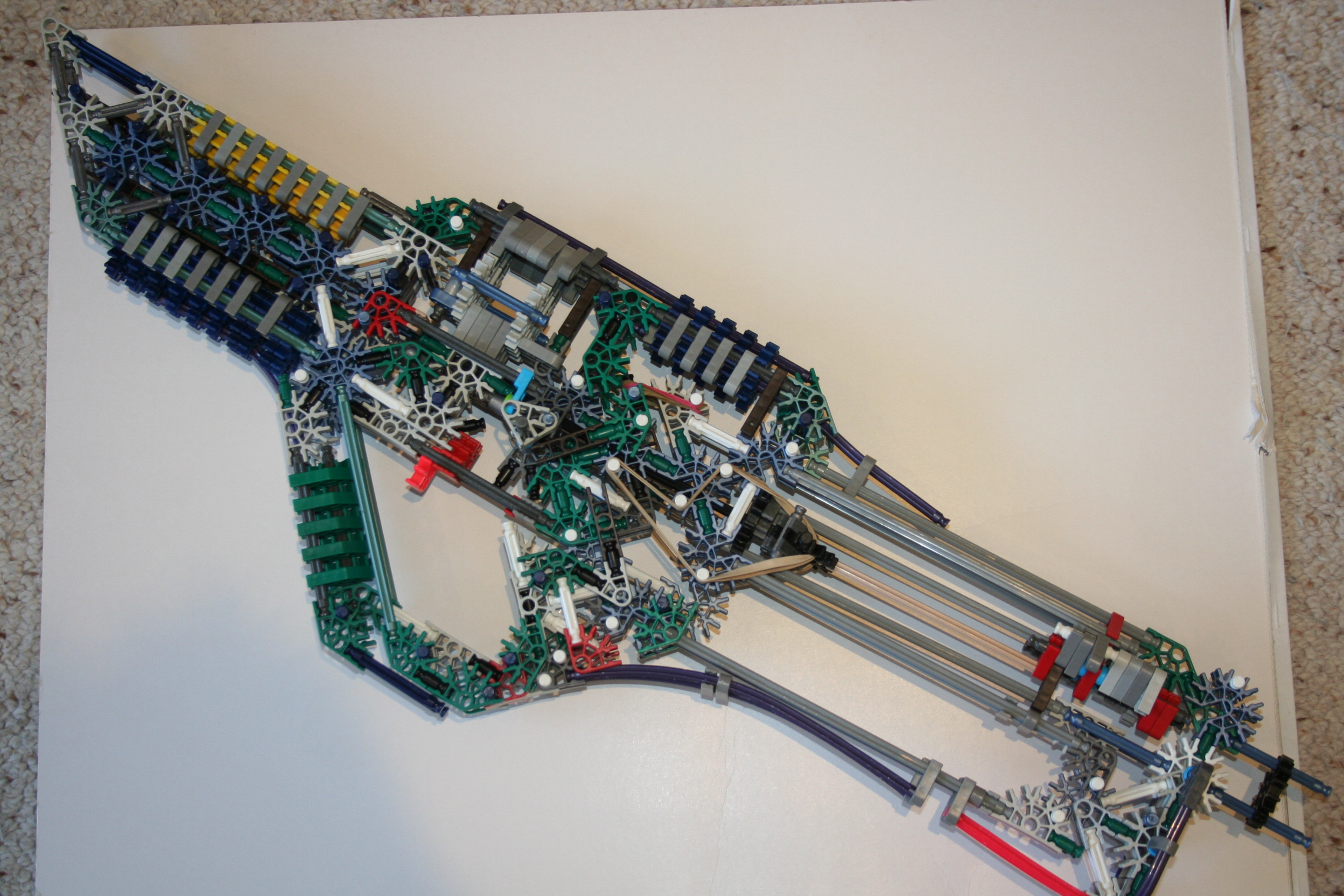 XKR Knex Assault Rifle - big mod of Jager's
