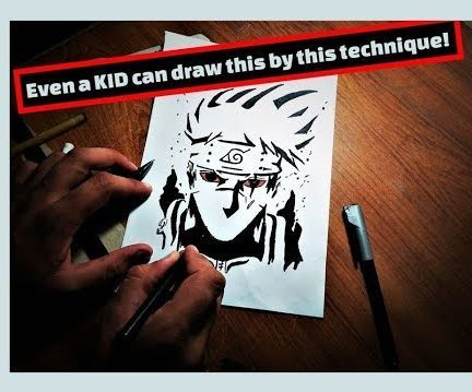 WORLD'S Easiest Way to Make Mind-boggling Anime Drawings