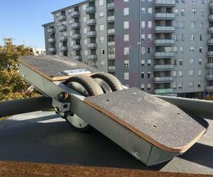 一轮电动滑板