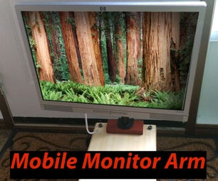 Mobile LCD Arm