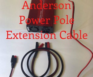 Anderson Power Pole Battery Charger Extension Cable