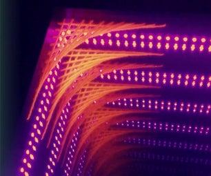 Infinity Mirror UV String Art