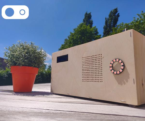 Slimbox -  a Smart Bluetooth Speaker!