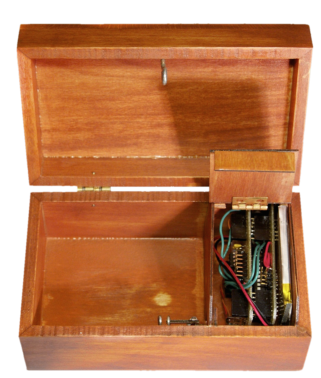 Box with a Music Lock