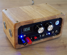 Mini Bench Power Supply - Vintage Style