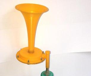3D印刷空气喇叭
